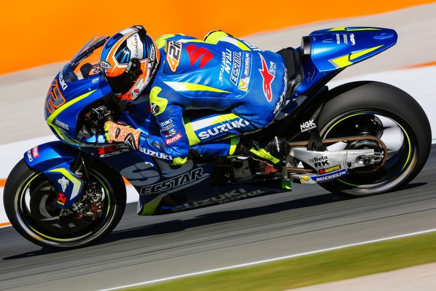 Alex Rins, Team Suzuki Ecstar, Gran Premio Motul de la Comunitat Valenciana