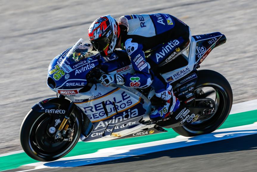 Loris Baz, Reale Avintia Racing, Gran Premio Motul de la Comunitat Valenciana