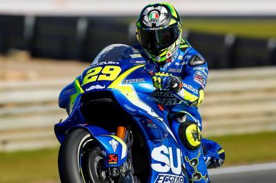 FP1 MotoGP™:  Iannone ist Schnellster