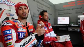 The Italian rider wasn't completely happy despite finishing 3rd on Friday; ahead of Marquez in 6th