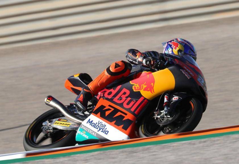 Niccolo Antonelli, Red Bull KTM Ajo, Gran Premio Motul de la Comunitat Valenciana