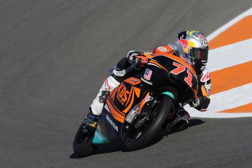 Ayumu Sasaki, SIC Racing Team, Gran Premio Motul de la Comunitat Valenciana