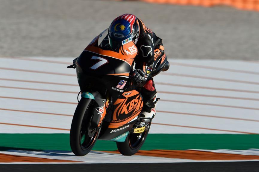 Adam Norrodin, SIC Racing Team, Gran Premio Motul de la Comunitat Valenciana