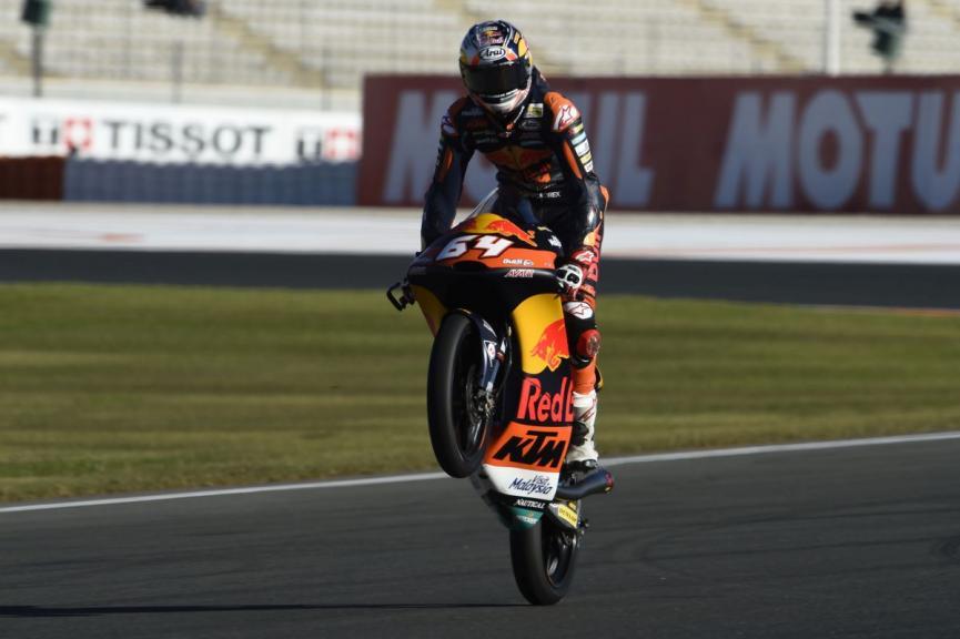 Bo Bendsneyder, Red Bull KTM Ajo, Gran Premio Motul de la Comunitat Valenciana