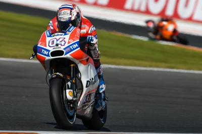 "Dovizioso: ""Marquez is fast but there were a lot of crashes"""