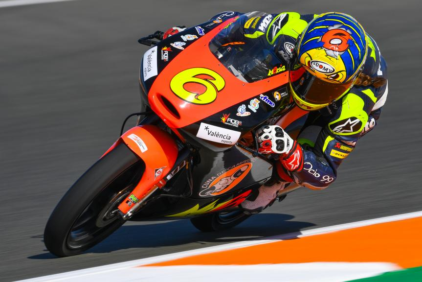 Maria Herrera, MH6 Team, Gran Premio Motul de la Comunitat Valenciana