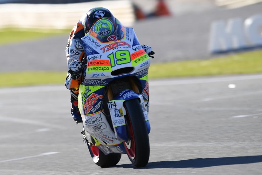 Xavier Simeon, Tasca Racing Scuderia Moto2, Gran Premio Motul de la Comunitat Valenciana
