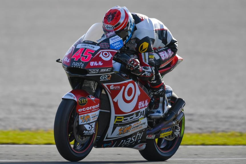 Tetsuta Nagashima, Teluru SAG Team, Gran Premio Motul de la Comunitat Valenciana
