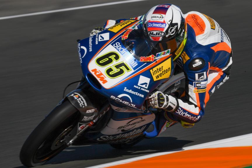 Philipp Oettl, Sudmetal Schedl GP Racing, Gran Premio Motul de la Comunitat Valenciana