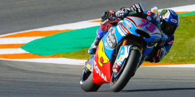 Pacesetter: Alex Marquez strikes early for pole