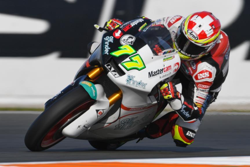 Dominique Aegerter, Kiefer Racing, Gran Premio Motul de la Comunitat Valenciana