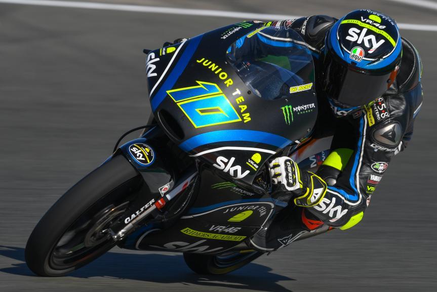 Dennis Foggia, Sky Junior Team VR46 Academy, Gran Premio Motul de la Comunitat Valenciana
