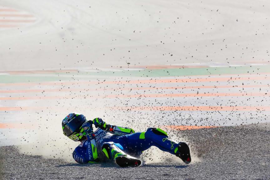 Andrea Iannone, Team Suzuki Ecstar, Gran Premio Motul de la Comunitat Valenciana @Marco Dek