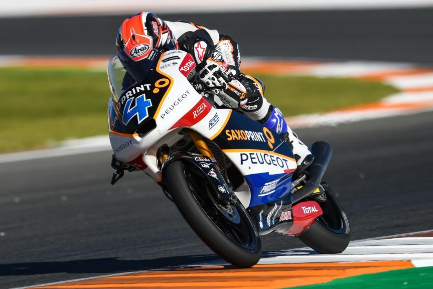 Patrik Pulkkinen, Peugeot MC Saxoprint, Gran Premio Motul de la Comunitat Valenciana