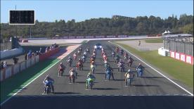 The full race session at the #ValenciaGP of the Moto3™ World Championship.