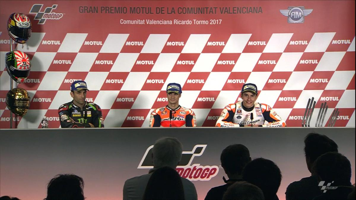 #ValenciaGP: Post-Race Press conference