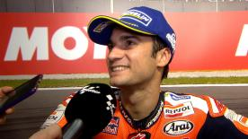 The Repsol Honda rider won his second GP of the season at Valencia