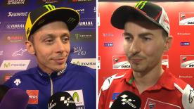 MotoGP™ riders give us feedback on their race results at the #ValenciaGP.