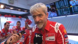 El Director General de Ducati Corse comenta la última carrera de Dovi y hace balance del fantástico año para la fábrica de Borgo Panigale