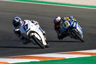 Fantastic finish: impressive comeback for McPhee at Valencia