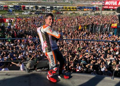 On top of the world! @marcmarquez93! #BIG6
