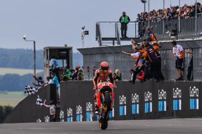 Los 10 momentos clave de Márquez en su sexto título
