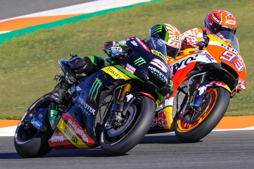 Marc Marquez, Repsol Honda Team, Johann Zarco, Monster Yamaha Tech 3, Motul Grand Prix of Japan