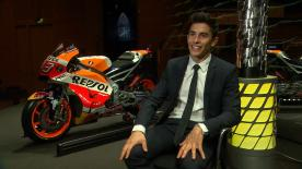 After taking his 6th title - the 4th in the premier class, Marc Marquez reviews a tough season with motogp.com's Nick Harris