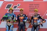 Miguel Oliveira, Franco Morbidelli, Brad Binder, Gran Premio Motul de la Comunitat Valenciana