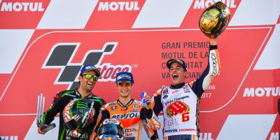 #BIG6: Marquez crowned Champion, Pedrosa wins dramatic race