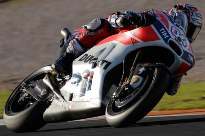 Ducati, importanti primi test a Valencia