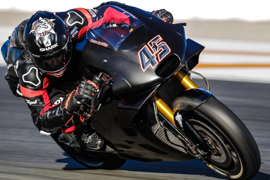 Scott Redding, Aprilia Racing Team Gresini, Valencia MotoGP™ Official Test