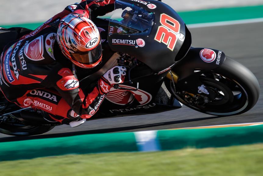 Takaaki Naakagami, LCR Honda Idemsu, Valencia MotoGP™ Official Test
