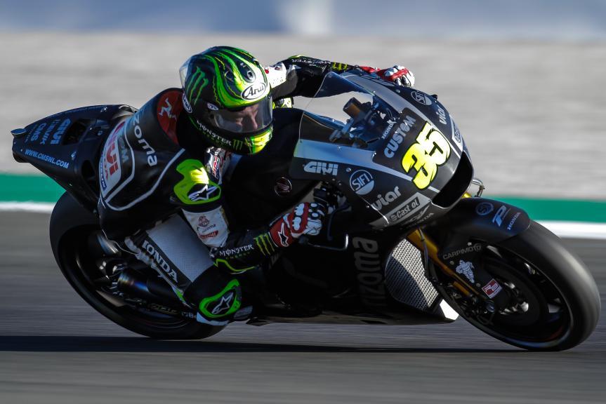 Cal Crutchlow, LCR Honda, Castrol, Valencia MotoGP™ Official Test