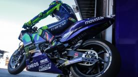 The morning of Day 1 of testing in MotoGP™ at the Circuit Ricardo Tormo saw riders and teams testing new machinery for the first time