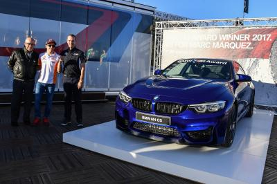 Five BMW M Awards in a row for Marquez