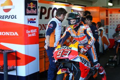 Marquez & Pedrosa: testing finished until Sepang