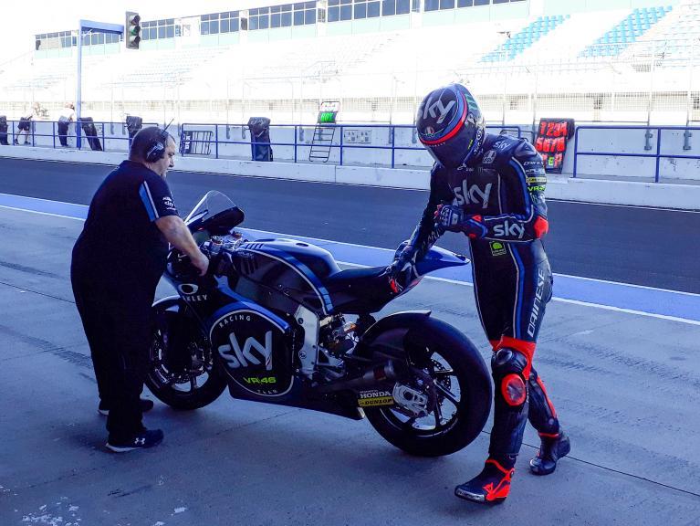 Francesco Bagnaia, Sky Racing Team VR46, Jerez Moto2 & Moto3 Official Test