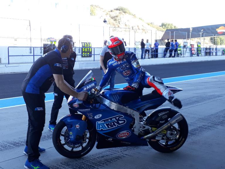 Mattia Pasini, Italtrans Racing Team, Valencia MotoGP™ Official Test