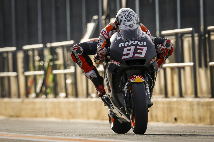 Marc Marquez, Repsol Honda Team, Valencia MotoGP™ Official Test