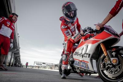 "Dovizioso: ""We were able to finish the programme"""