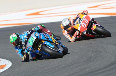 Rookies at Valencia: Morbidelli top by half a tenth