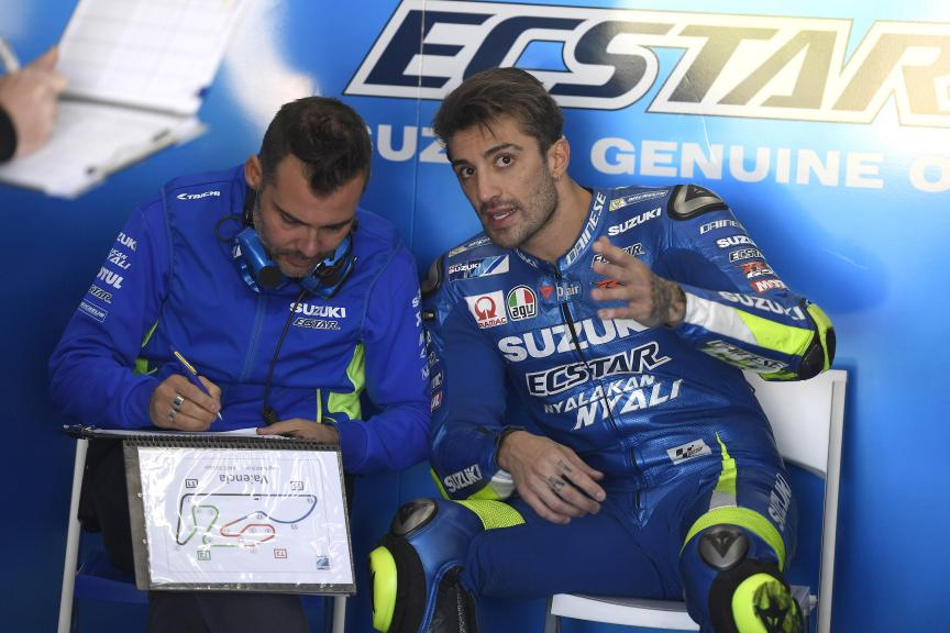 Andrea Iannone, Team Suzuki Ecstar, Valencia MotoGP™ Official Test