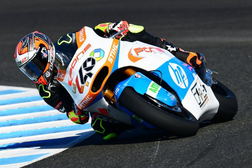 Hector Barbera, Pons HP40, Jerez Moto2 & Moto3 Official Test