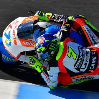 Oliveira beendet Jerez-Test an der Spitze