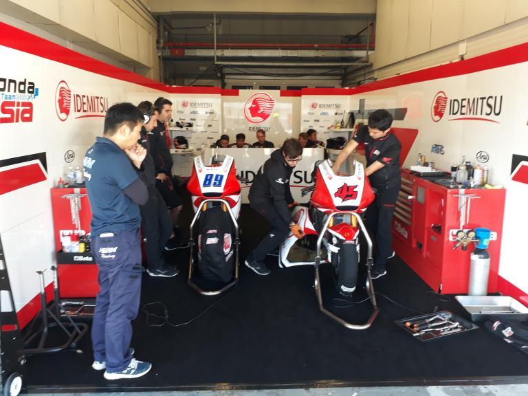 IDEMITSU Honda Team Asia, Jerez Moto2 & Moto3 Official Test