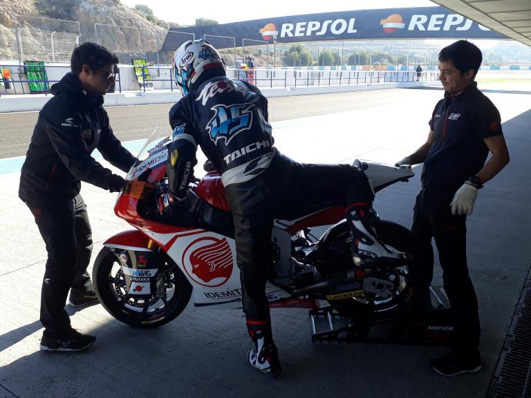 Tetsuta Nagashima, IDEMITSU Honda Team Asia, Jerez Moto2 & Moto3 Official Test