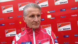 Paolo Ciabatti, Ducati's Sporting Director, explains the new parts Ducati tested at the Circuit Ricardo Tormo, and what they will try in Sepang 2018