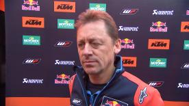 Mike Leitner, team manager de Red Bull KTM Factory Racing, s'est exprimé au sujet du Test de Valence.
