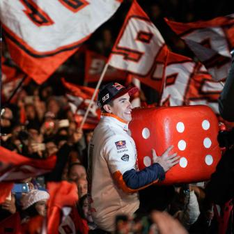 Go #BIG6 – and Go Home! Marquez feiert in Cervera!